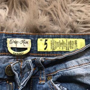 Indigo Rein Jeans - Indigo Rein Skinny Ripped Jeans